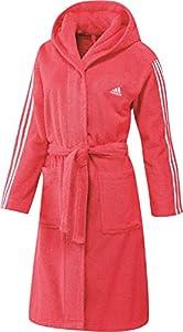 Sauna Bademantel Damen adidas 3 Stripes
